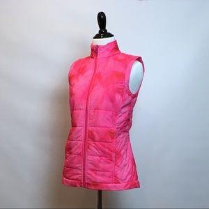 Slazenger hot pink thermal golf / run vest